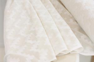 Cotton Cutwork Chevron