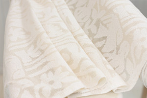 Cotton Cutwork Horses