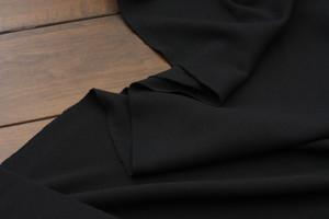 Black Wool Knit