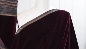 Royal Burgundy Velvet