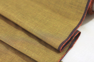 Golden Brown Cotton Shirting