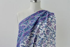 Lavender Tendrils Cotton