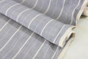 Beach Stripe Cotton Shirting