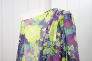 Charmeuse Floral Chiffon