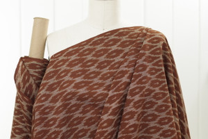 Rusted Cotton Ikat