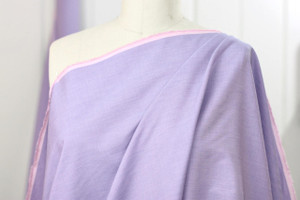 Lavender Cotton Shirting