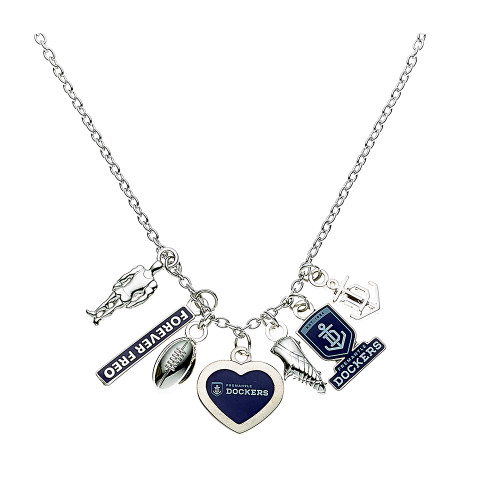 Pendant Necklace with Charms