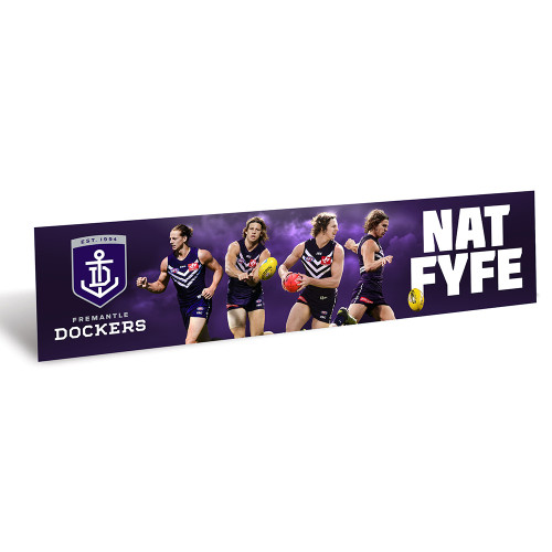 Nat Fyfe Club Exclusive Bumper Sticker