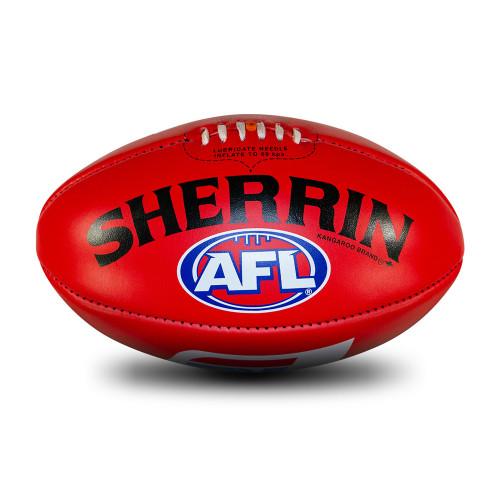 Sherrin Red Match Football