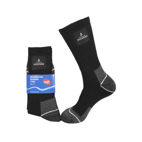 Mens 2 Pack Heavy Duty Sock