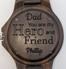 Fathers' Day Blackwood & Silver Style 1