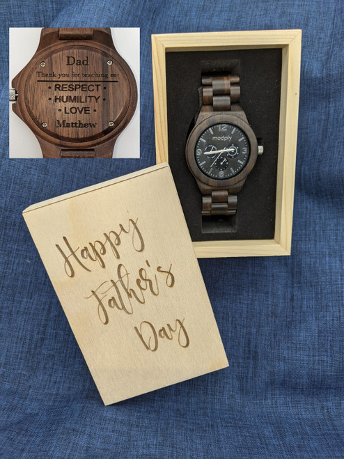 Fathers' Day Blackwood & Silver Style 2
