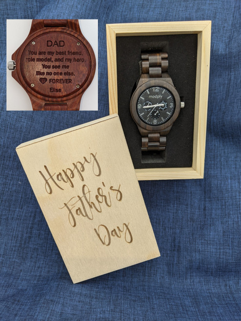Father's Day Blackwood and Gold Style 3