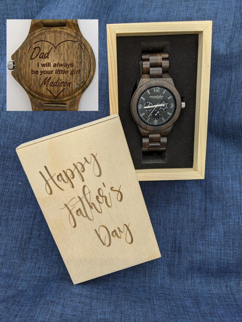 Father's Day Blackwood and Gold Style 4