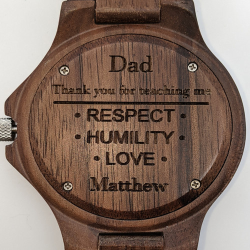 Fathers Day Blackwood and Redwood Style 2