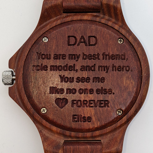 Fathers Day Blackwood and Redwood Style 3