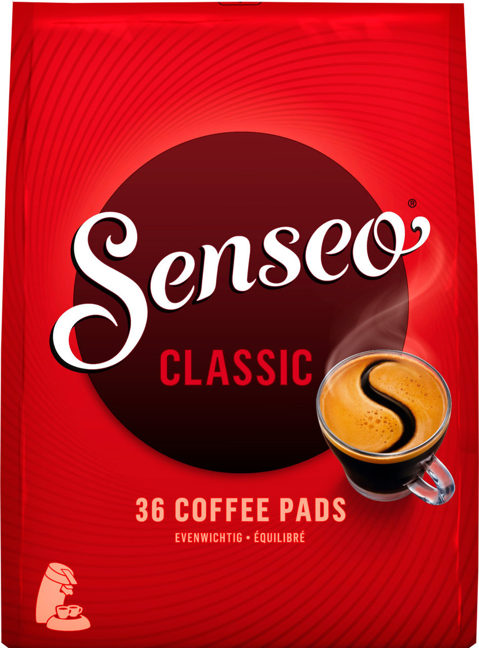 Douwe Egberts Senseo Regular Classic Medium Roast 36 Pods