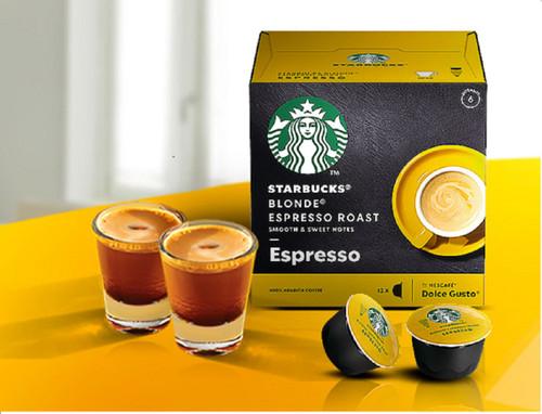 Dolce Gusto Starbucks Blonde Espresso Roast