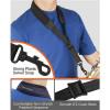 Protec Padded Neoprene Saxophone Neck Strap with Plastic Swivel Snap (Black, Regular 22″)