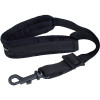 "Protec Saxophone Padded Neck Strap-24"" (Tall) W/ Plastic Snap Black"