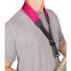 "Protec Saxophone Less Stress Neck Strap 24"" Tall with Metal Snap"