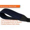 "Protec Saxophone Neoprene Neck Strap 20"" Junior with Plastic Snap Black"