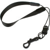 """Protec Saxophone Standard Neck Strap 22"""" Tall with Plastic Snap Black"""