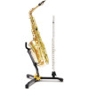 Hercules DS532BB Alto/Tenor Saxophone, Flute/Clarinet Stand w/Bag
