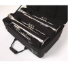 Marcus Bonna Compact Case for 4 Trumpets- Black