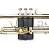 Protec Trumpet Leather Valve Guard Black