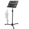 Hercules Orchestra Stand Perforated Desk w/ Swivel Legs