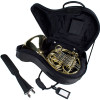 Protec Fixed Bell French Horn Contoured Pro Pac Case Black