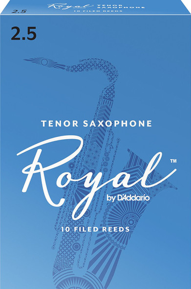 Rico Royal Tenor Saxophone Reeds Pack of 10