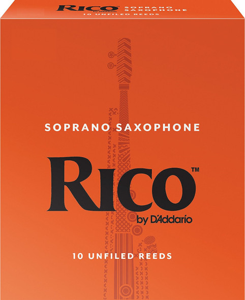Rico Soprano Sax Reeds Pack of 10