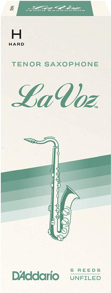 Rico La Voz Tenor Saxophone Reeds, Box of 5