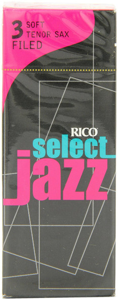 D'Addario Select Jazz Filed Tenor Sax Reeds Box of 5
