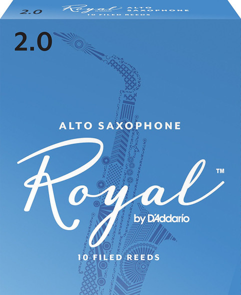 Rico Royal Alto Saxophone Pack of 10