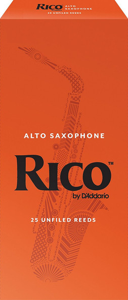 Rico Alto Sax Reeds Pack of 25