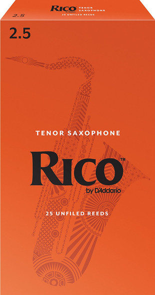Rico Tenor Saxophone Reeds Pack of 25