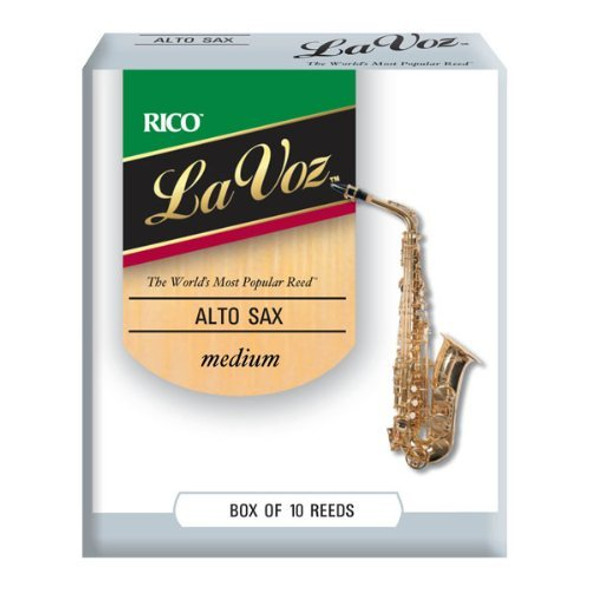 Rico La Voz Alto Saxophone Reeds, Box of 10