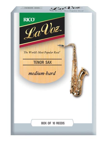 Rico La Voz Tenor Saxophone Reeds, Box of 10