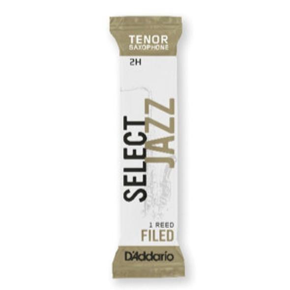 D'Addario Rico Select Jazz Tenor Saxophone 25-Count Single-Sealed Reeds