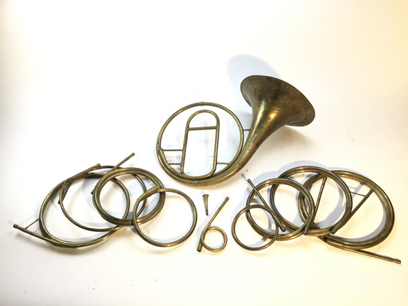 Used Sautermeister Natural Horn with Various Key of Crooks (SN: 062218)