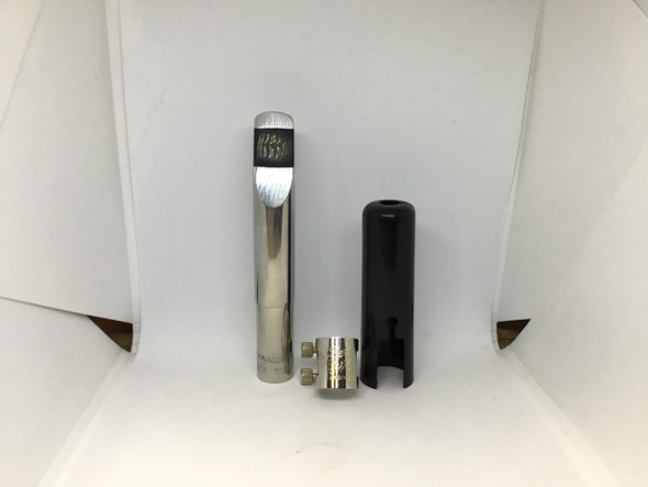 Used Berg Larsen Metal 115/2 Baritone Saxophone Mouthpiece