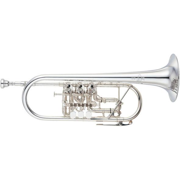 Yamaha Custom Rotary C Trumpet, YTR-948FFMS