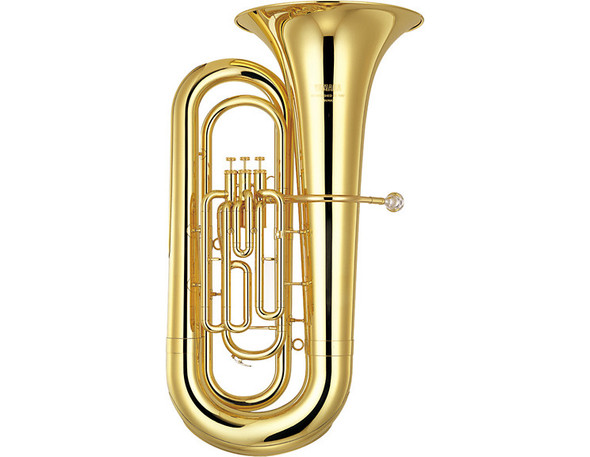 Yamaha Convertible Marching BBb Tuba /with case YBB-201MWC