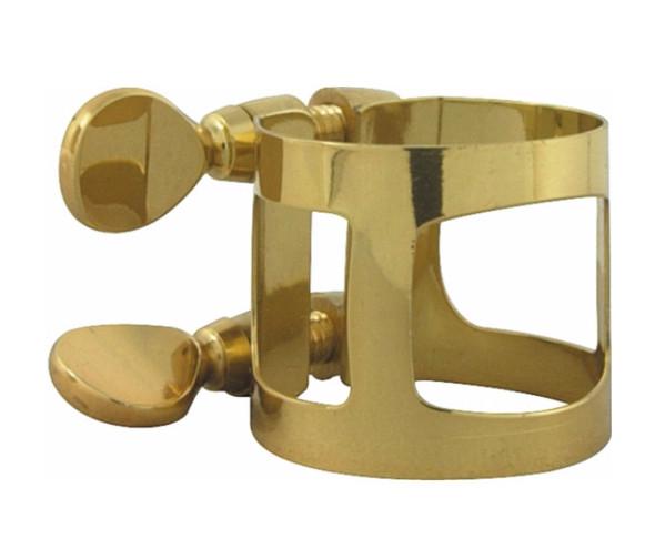 Yamaha Soprano saxophone ligature; gold laquer