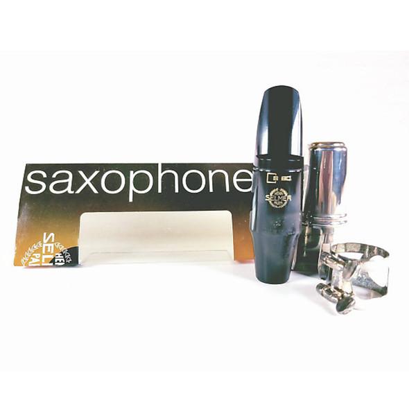 Selmer Paris 0S404C1 Tenor Saxophone Mouthpiece with Metal Ligature and Cap