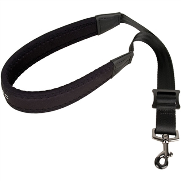 "Protec Saxophone Neoprene Neck Strap 22"" Regular with Metal Snap Black"
