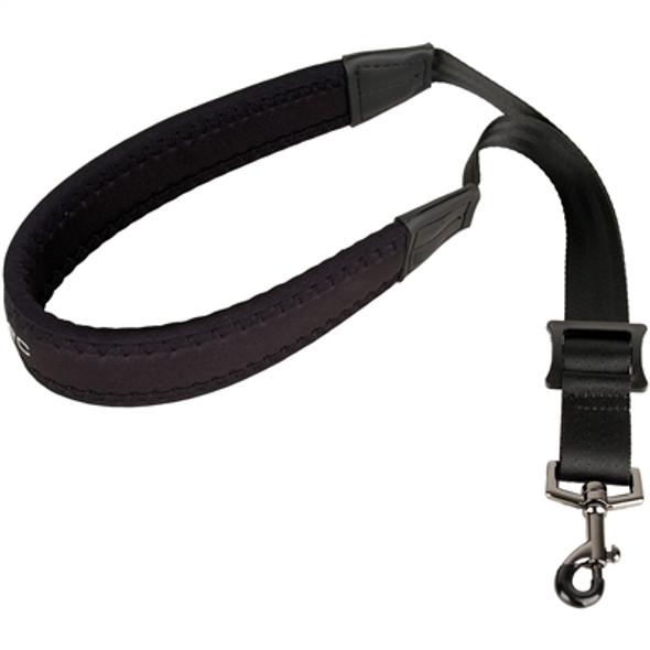 "Protec Saxophone Neoprene Neck Strap 22"" Regular with Metal Snap Black"
